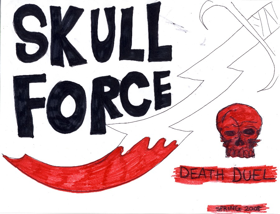 Skull Force Comics 10. Spring 2008: Death Duel