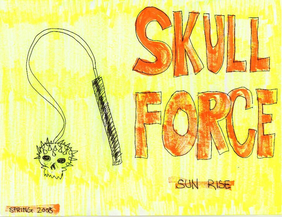 Skull Force Comics 11. Spring 2008: Sun Rise