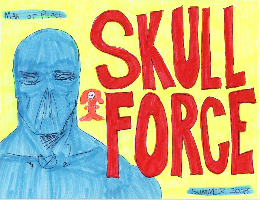 Skull Force Comics 14. Summer 2008: Man of Peace