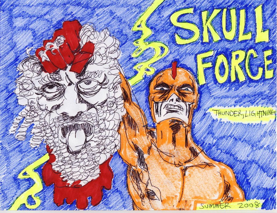 Skull Force Comics 15. Summer 2008: Thunder, Lightning