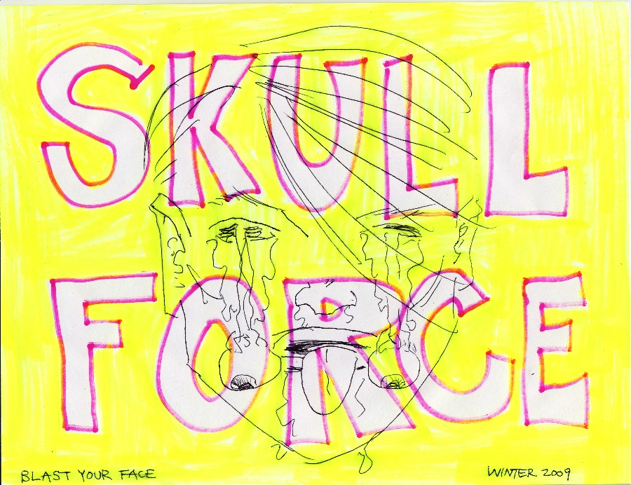 Skull Force Comics 19. Winter 2009: Blast Your Face