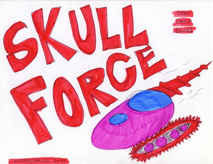 Skull Force Comics 21. Winter/Spring 2009: Deep Deep Down