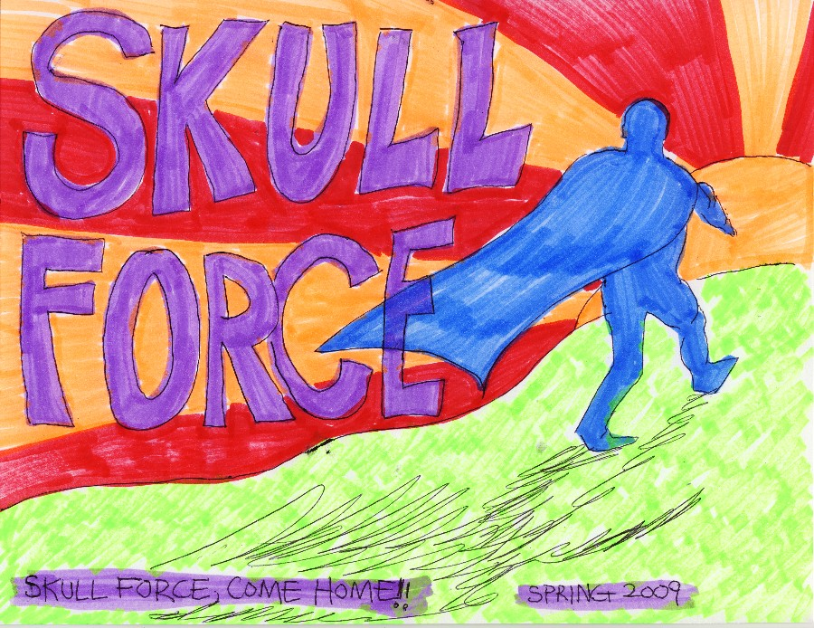 Skull Force Comics 24. Spring 2009: Skull Force, Come Home!!