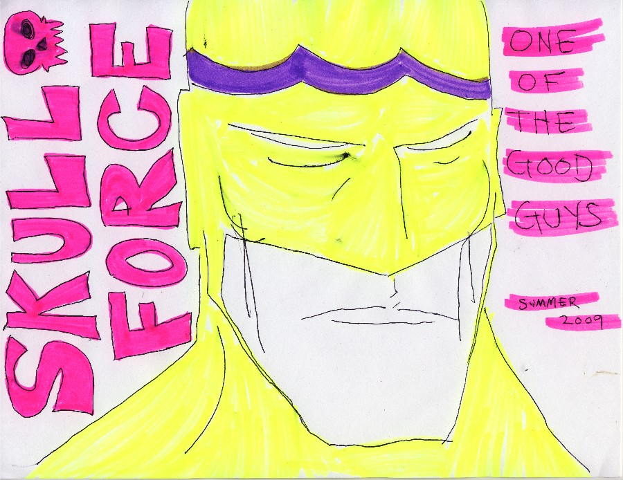 Skull Force Comics 26. Summer 2009: One of the Good Guys