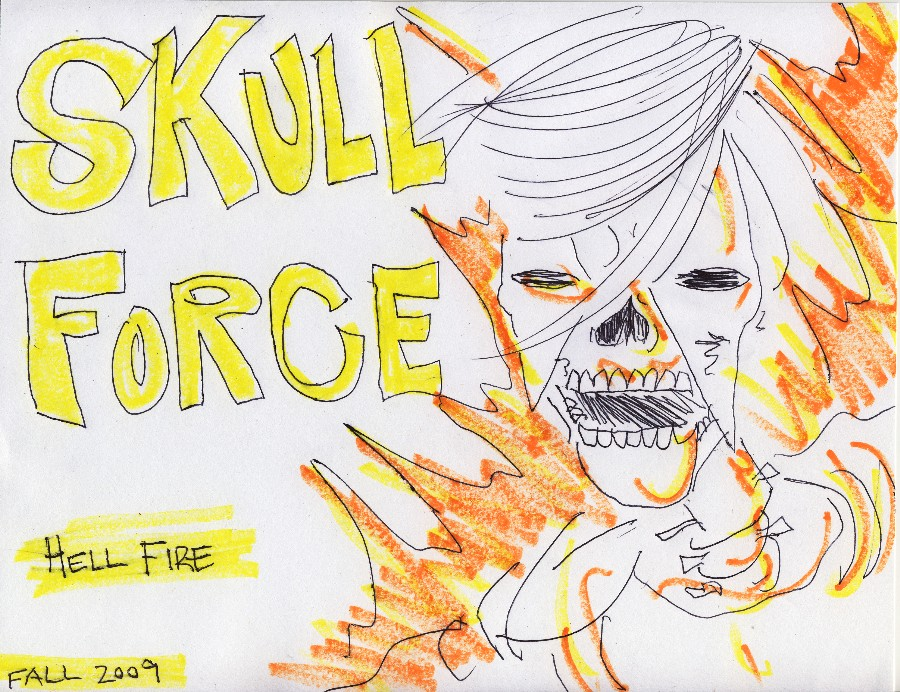 Skull Force Comics 29. Fall 2009: Hell Fire
