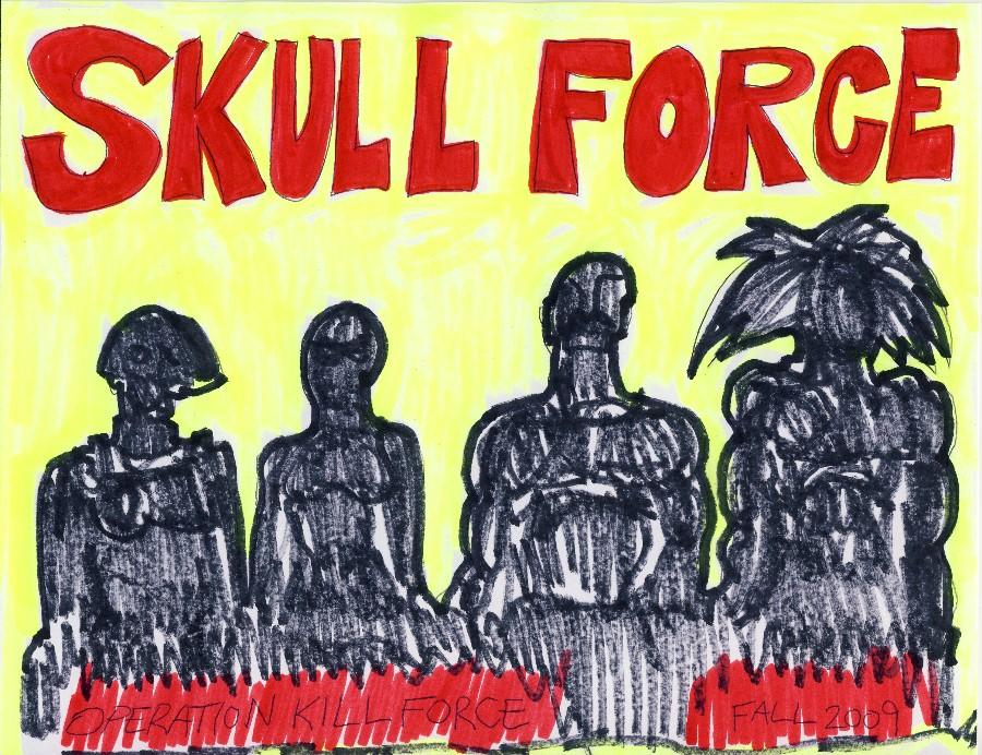 Skull Force Comics 30. Fall 2009: Operation Kill Force