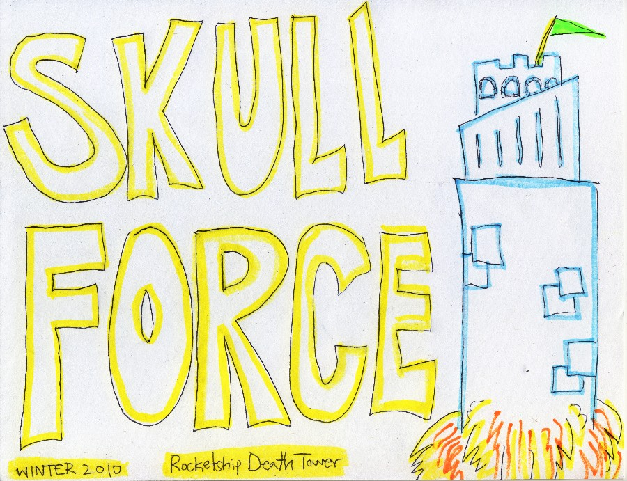 Skull Force Comics 33. Winter 2010: Rocketship Death Tower