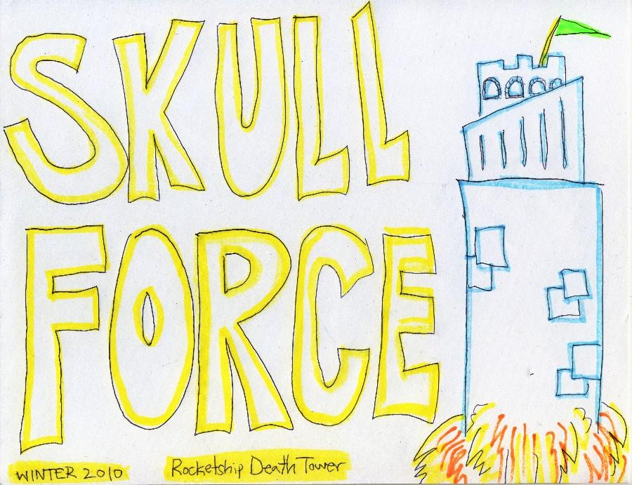 Skull Force Comics 33. Winter 2010: Rocketship Death Tower