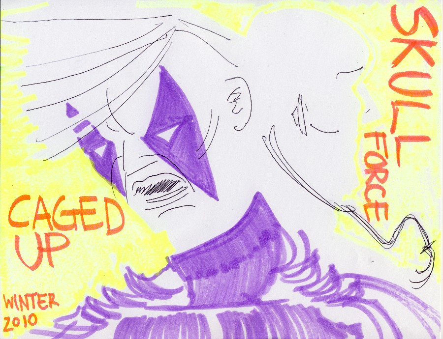 Skull Force Comics 34. Winter 2010: Caged Up