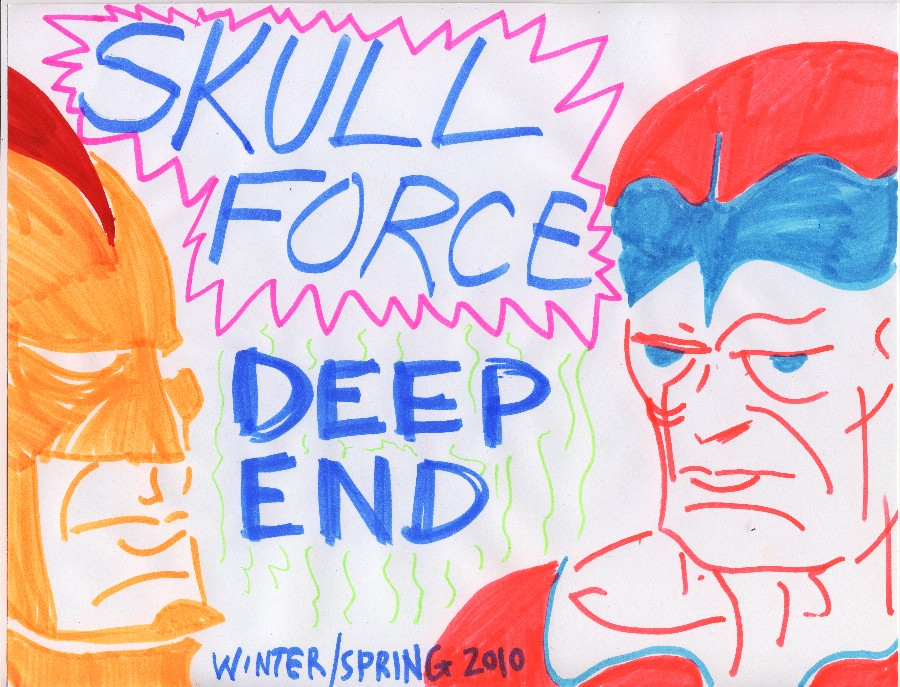 Skull Force Comics 35. Winter/Spring 2010: Deep End