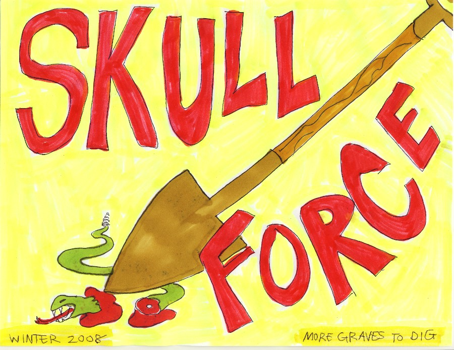 Skull Force Comics 4. Winter 2008: More Graves to Dig