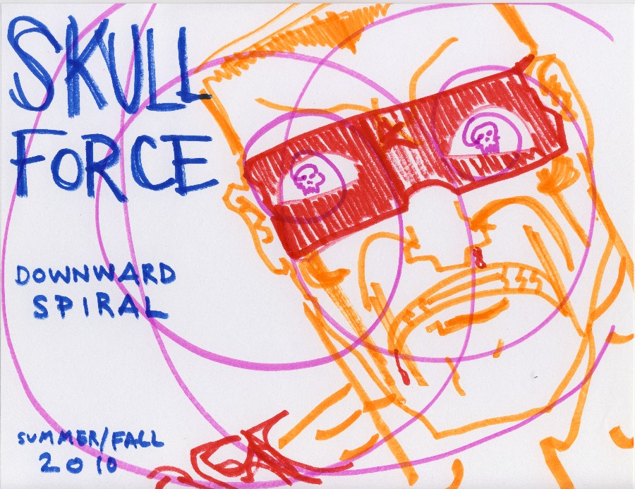 Skull Force Comics 40. Summer/Fall 2010: Downward Spiral