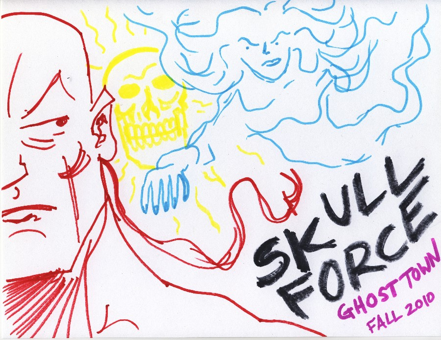 Skull Force Comics 41. Fall 2010: Ghost Town