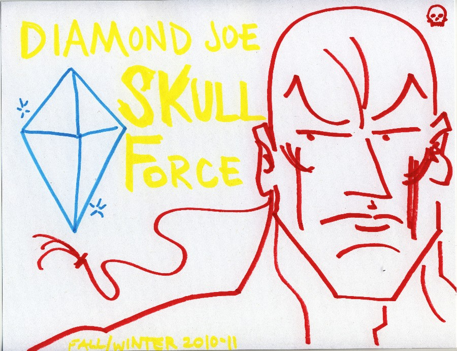 Skull Force Comics 43. Fall/Winter 2010-11: Diamond Joe
