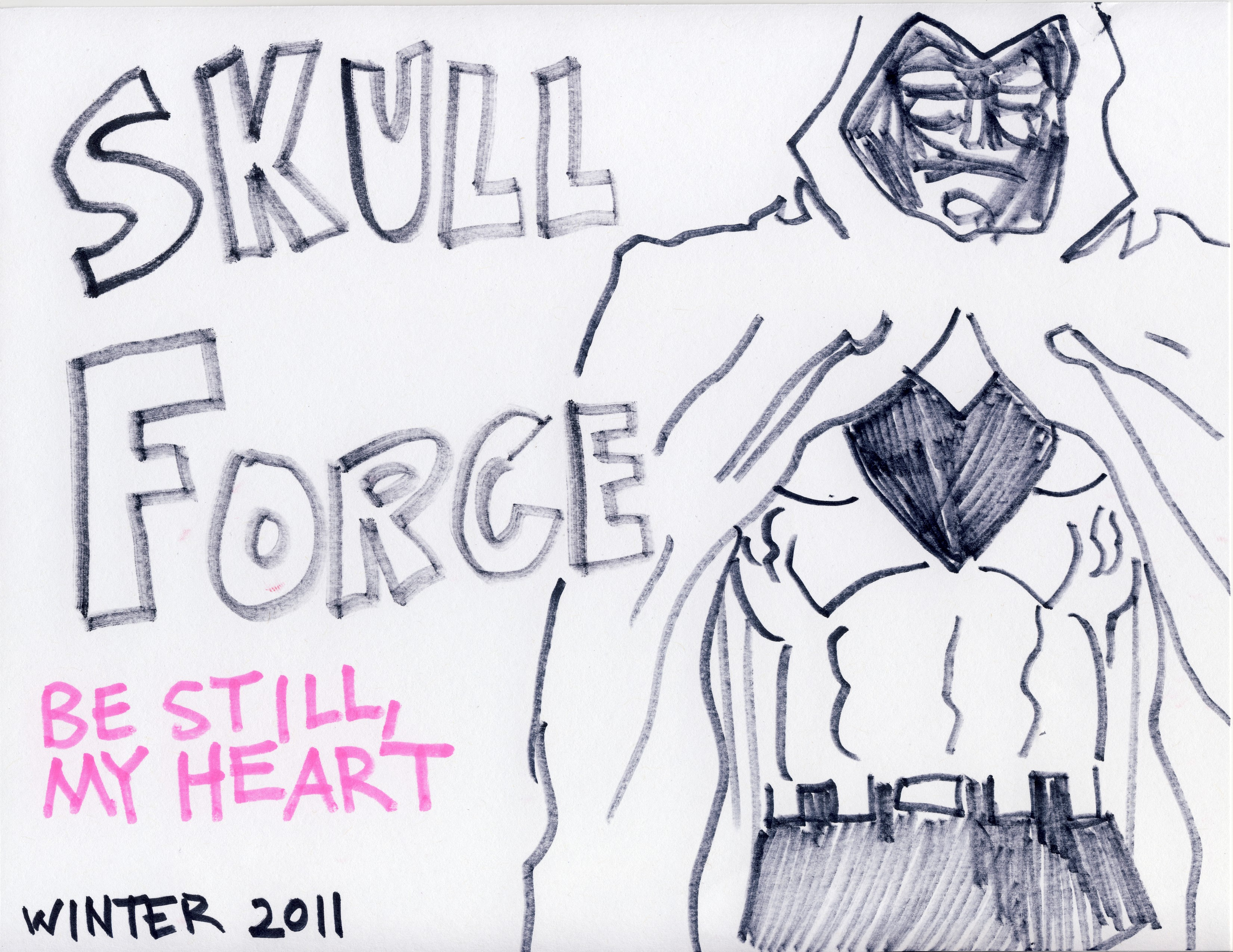 Skull Force Comics 44. Winter 2011: Be Still, My Heart
