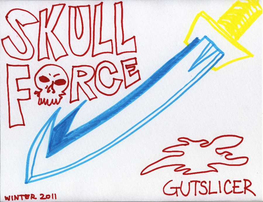 Skull Force Comics 45. Winter 2011: Gutslicer