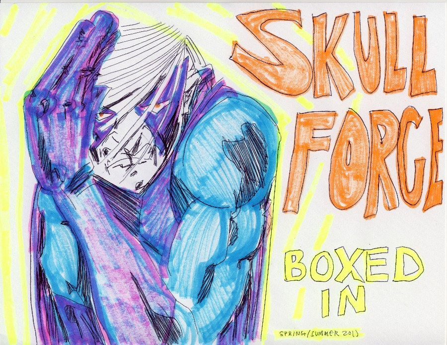 Skull Force Comics 49. Spring/Summer 2011: Boxed In