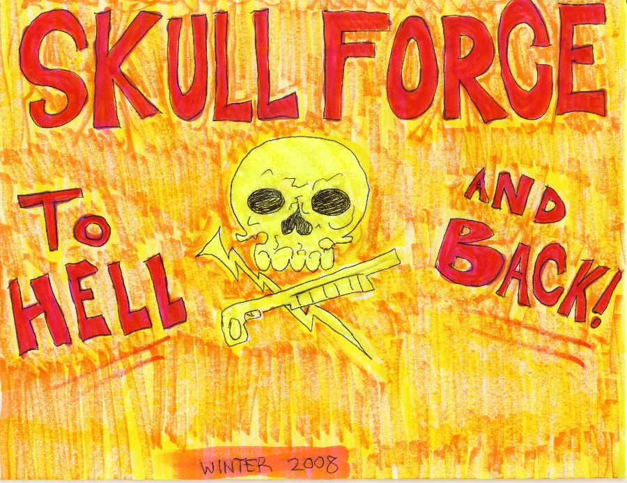 Skull Force Comics 5. Winter 2008: To Hell and Back