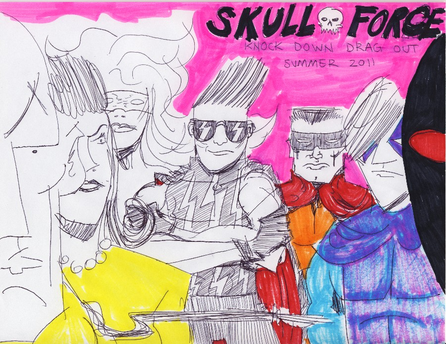 Skull Force Comics 50. Summer 2011: Knock Down Drag Out