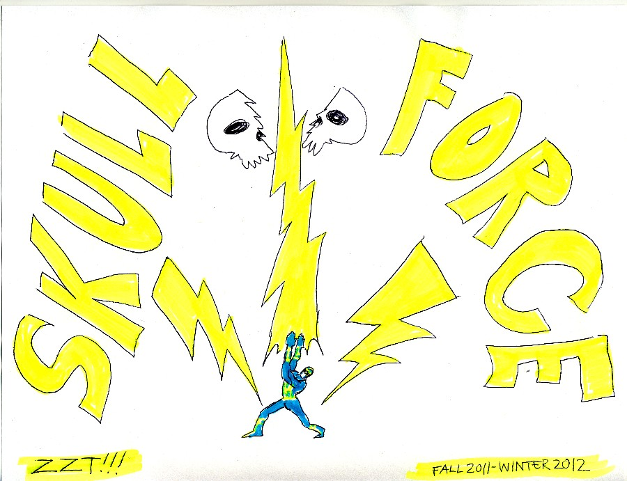 Skull Force Comics 53. Fall 2011 - Winter 2012: ZZT!!!