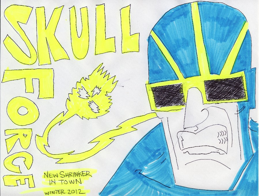 Skull Force Comics 54. Winter 2012: New Shrinker in Town