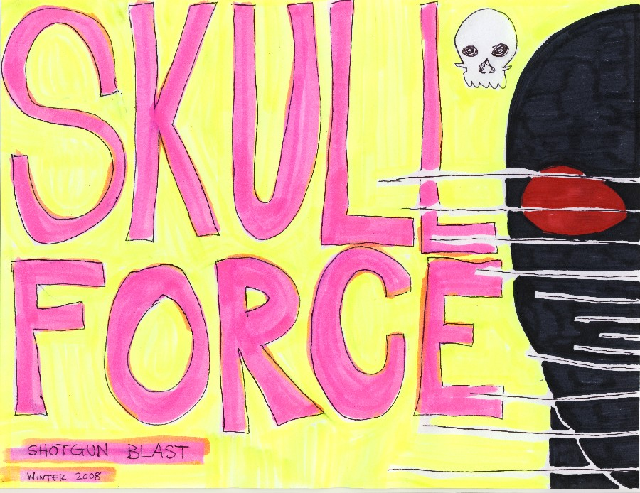 Skull Force Comics 6. Winter 2008: Shotgun Blast