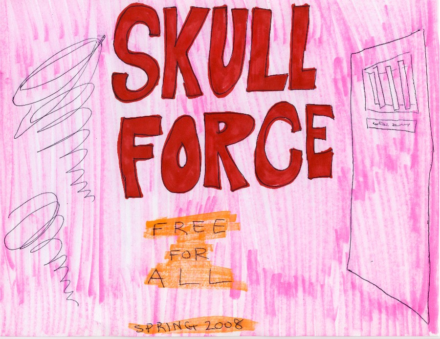 Skull Force Comics 9. Spring 2008: Free For All